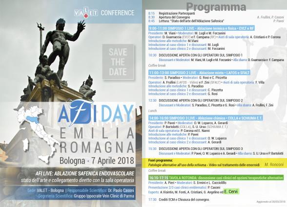 Relazione del Dott. Ronconi all'AFI DAY - bologna 7 aprile 2018